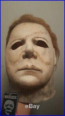 michael myers mask cgp warlock withtag halloween   replica mask halloween hot costumes