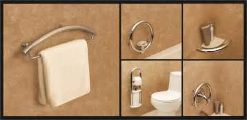 Designer Grab Bars For Bathrooms Accessible Bathroom Bridgeway Independent Living Designs