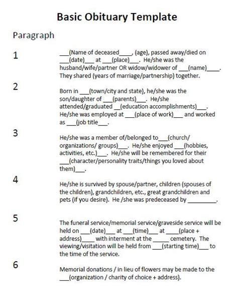 how to write a eulogy template new how to write a eulogy template free template design