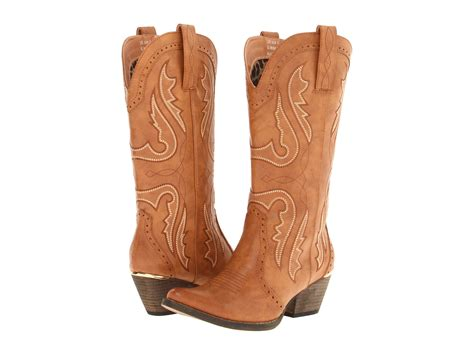 Light Brown Cowgirl Boots Cr Boot
