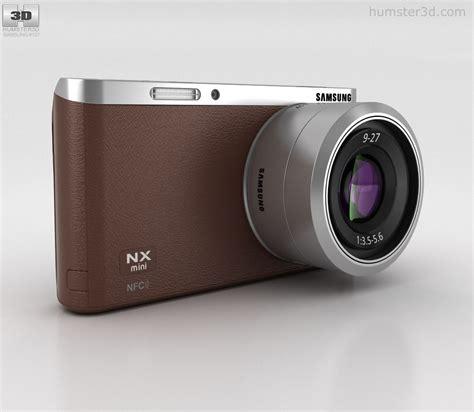 Samsung Smart Nx Mini samsung nx mini smart brown 3d model hum3d