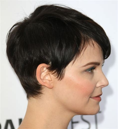 pixie cropped picture this back longer as a quot wedge quot cut sweet pixie cut for short hair ginnifer goodwin pixie