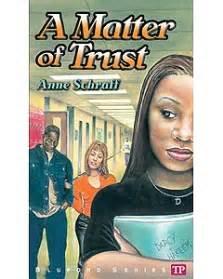 a matter of trust book report a matter of trust by anne schraff bhs library book reviews a matter of trust by diana palmer reviews discussion