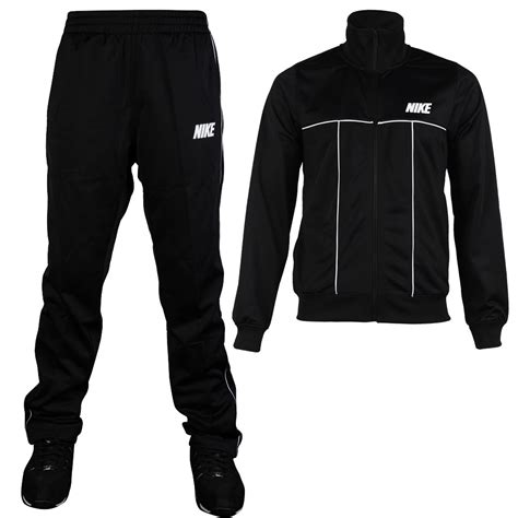 Mens Suit Jacket Runningtraining Blackwhite 100 Original mens nike black white bottoms jacket top