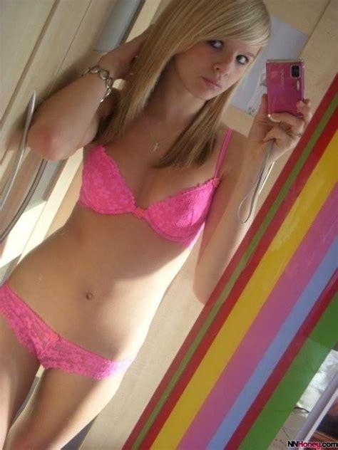 teen blonde panties pretty trim blonde selfie nn honey