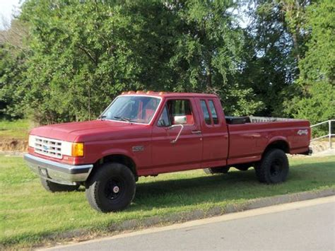 Purchase used 1991 Ford F 250 4x4 Pick Up Truck Extended