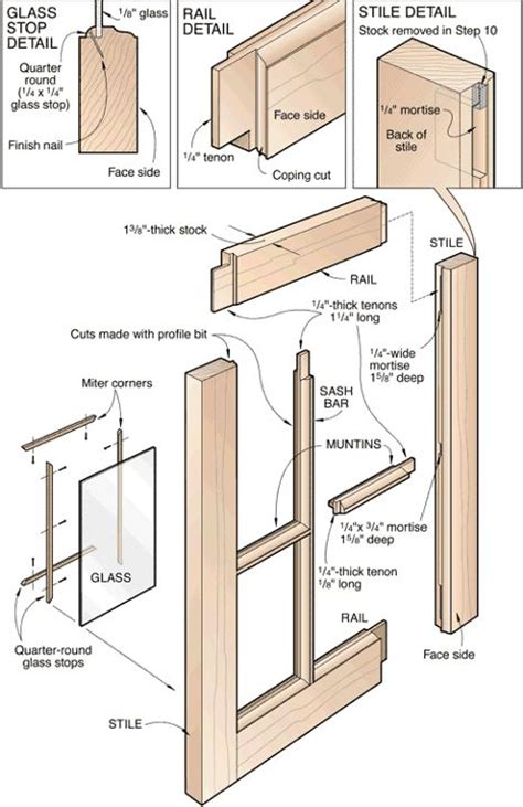 make window wooden window construction plans google search house