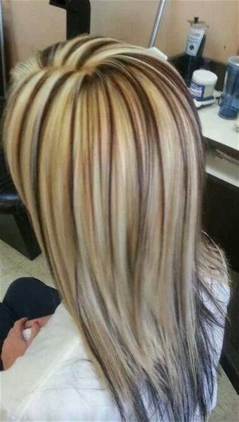 high light and low lights in hair low lights high lights multi color hair pinterest