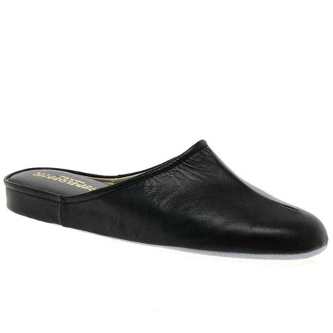 mens leather house shoes relax gavin mens leather slippers charles clinkard