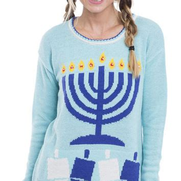 light up hanukkah sweater light up the hanukkah sweater from on a hanger