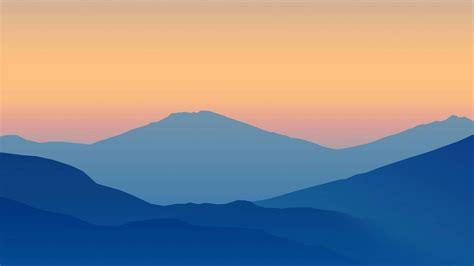 minimalist mountains minimalist wallpaper by scourge227 on deviantart