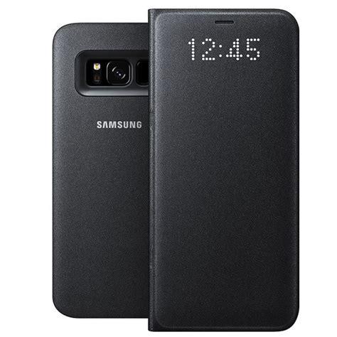Asli Led View Cover Samsung Galaxy S8 Original Ori Flipcover S8 samsung led view cover noir samsung galaxy s8 etui
