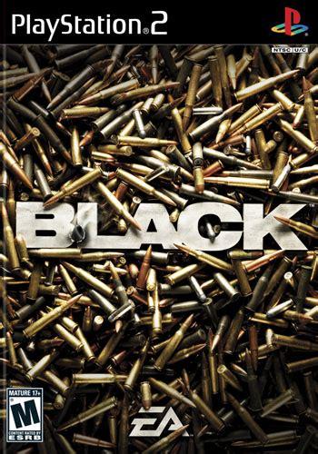 black video game black playstation 2 ign