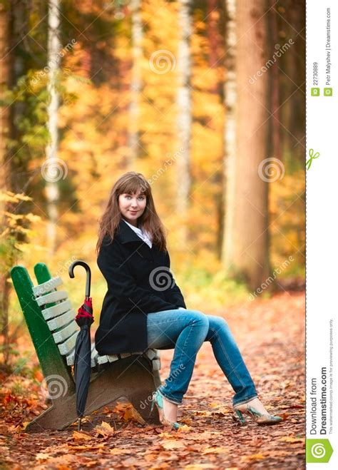 bench girl girl on bench royalty free stock images image 22730889