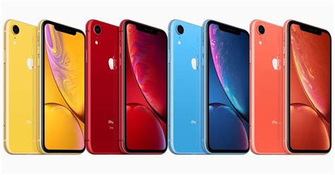 iphone c colors the new iphone xr comes in 6 colors and is relatively