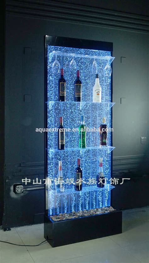 led lighting bubble water  color changing liquor