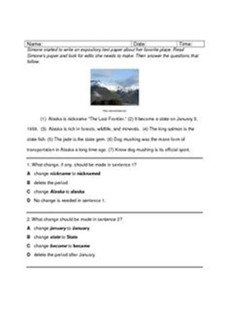 Fourth Grade Staar Writing Test by Staar Writing On Empowering Writers 4th Grade Writing And Writing