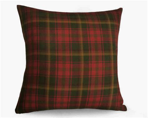 Plaid Covers by Gold Plaid Pillow Covers Green Plaid Throw Pillows