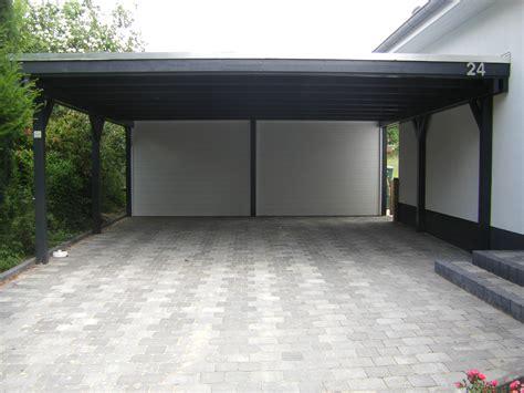 Carport Mit überdachung Des Eingangs by Referenzen Carports Sauerland