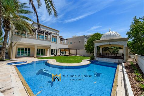 luxury villa in emirates dubai for sale the noble