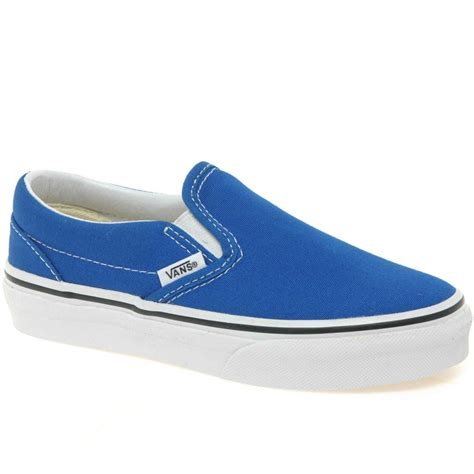 vans classic slip on junior boys canvas shoes vans from