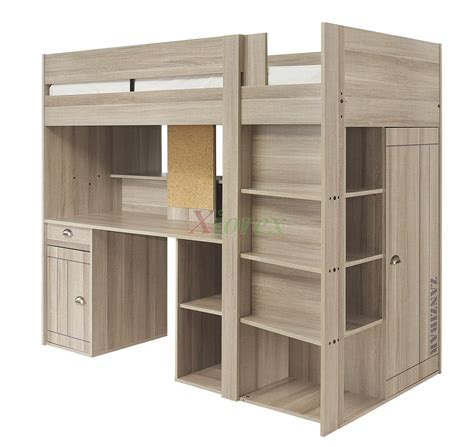 Gami Largo Loft Beds For Teens Canada With Desk Closet Loft Bed Canada