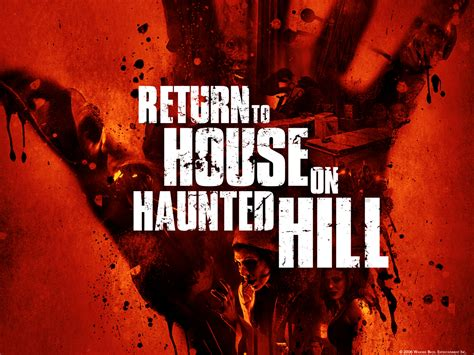 house on haunted hill 2 house on haunted hill dark horror poster blood f wallpaper 1600x1200 201597