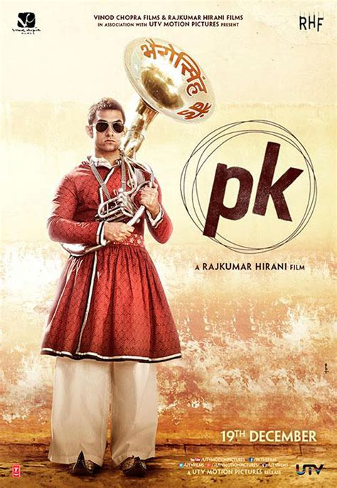 pk indian film aamir unveils new poster of controversial film pk