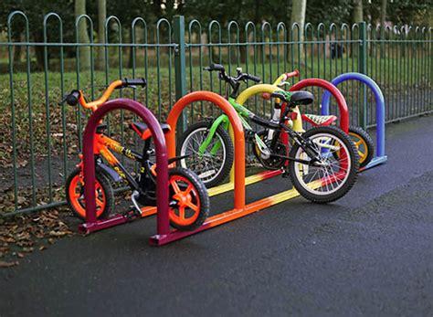 Bike Rack School by Mild Steel Cycle Bike Stands Versa Furniture