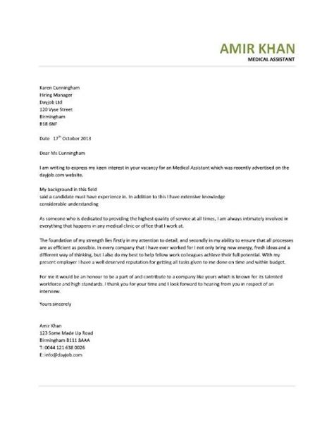 cover letter certified assistant cover letter format for assistant anamisat