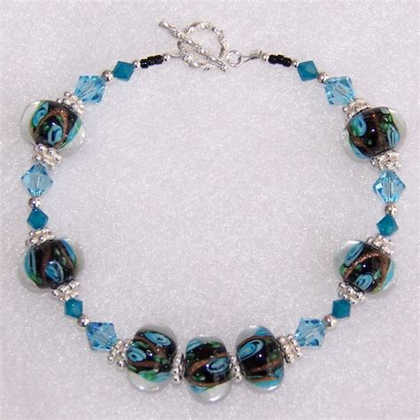 Handcrafted Beaded Bracelets - how to wear beaded necklaces models picture