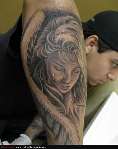 weeping angel tattoo designs tattoos and designs page 21