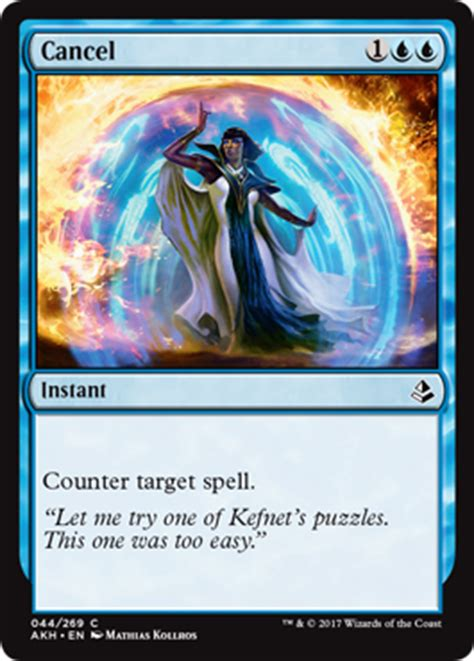cancel from amonkhet spoiler - Can A Gift Card Be Cancelled