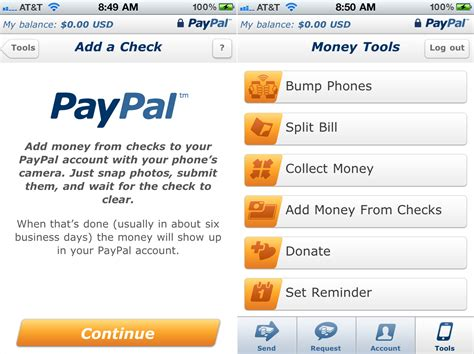 Paypal Background Check Paypal Users Can Now Deposit Checks By Simply Taking A Picture