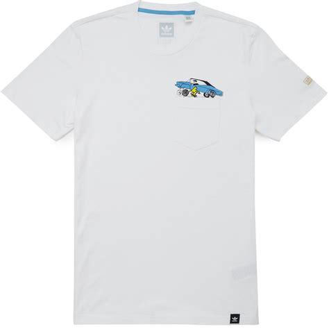 Tshirt Adidas Snoop adidas x snoop x gonz pocket t shirt white