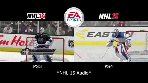 reset online stats nhl 15 nhl 15 vs nhl 14 intro graphic comparison next gen youtube