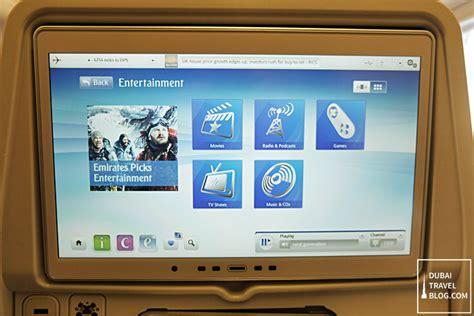 emirates entertainment the emirates ice inflight entertainment experience dubai