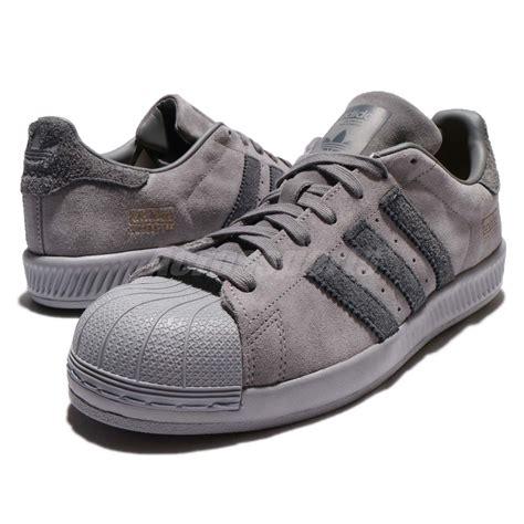 Adidas Bounce Original Made In Indonesia 7 Adidas Originals Superstar Bounce Grey Suede Shoes