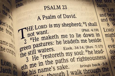 most comforting psalms psalm 23 the lord is my shepherd stock photo image
