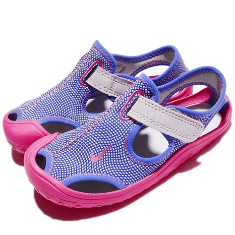 nike sandals for infants nike sunray protect td purple pink toddler baby infant
