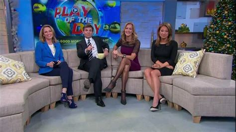 amy robach lara spencer ginger zee y legs amy robach lara spencer ginger zee december 17 2013