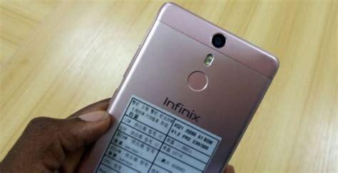 Infinix S X521 by Infinix Note 3 X521 Announced With Fingerprint Sensor