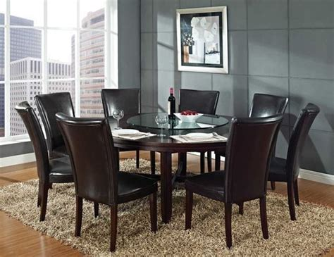 72 dining table 8 chairs 72 quot 8 chairs lazy susan dining room tables