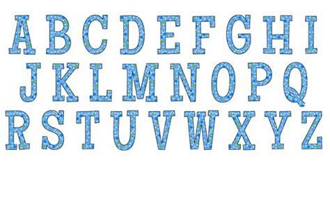 free printable alphabet letters in blue blue polka dot alphabet print color fun free