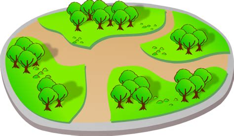 trail clipart park with trails clip at clker vector clip