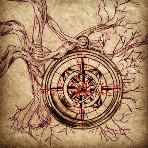 broken compass tattoo the world s catalog of ideas