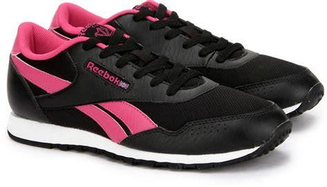 Reebok Casual Voila Ii Lp Pink reebok classic proton lp lifestyle shoes for buy black pink color reebok classic proton