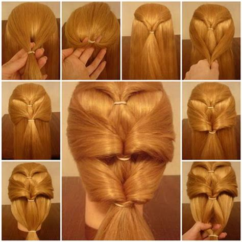 how to make easy hairstyles at home how to do hairstyles
