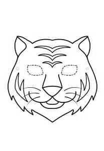 masque de tigre 224 imprimer gratuit
