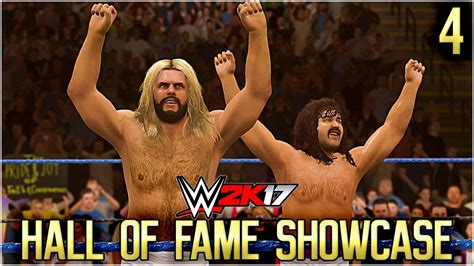 section 4 hall of fame wwe 2k17 hall of fame showcase part 4 fabulous freebirds